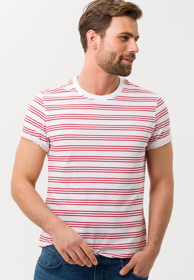 STYLE TROY - T-shirts print - red