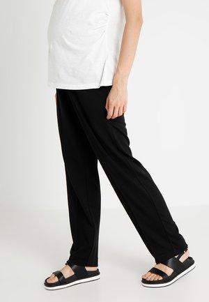 ONCE ON NEVER OFF SLACKS - Teplákové kalhoty - black