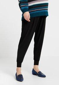 Boob - ONCE ON NEVER OFF EASY PANTS - Teplákové kalhoty - black - 0