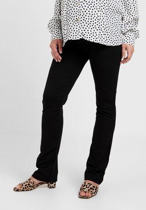 ONCE ON NEVER OFF LEG PANTS - Spodnie treningowe - black
