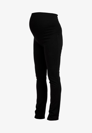 ONCE ON NEVER OFF LEG PANTS - Tracksuit bottoms - black