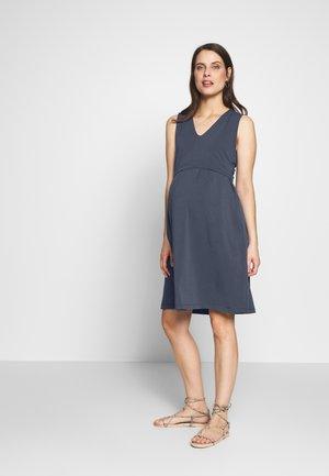 DRESS TILDA NURSING - Jerseykjole - blue