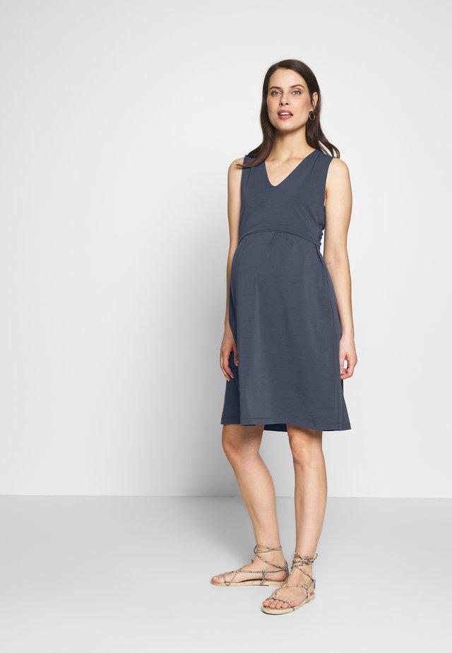 DRESS TILDA NURSING - Jerseyjurk - blue
