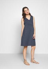 Boob - DRESS TILDA NURSING - Vestido ligero - blue - 1