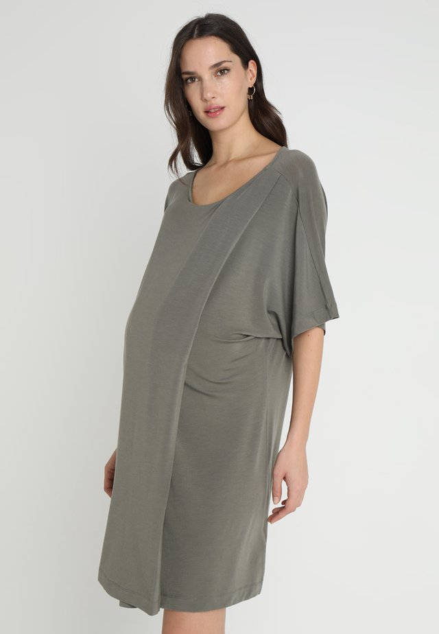 ILSE DRESS - Jersey dress - olive leaf