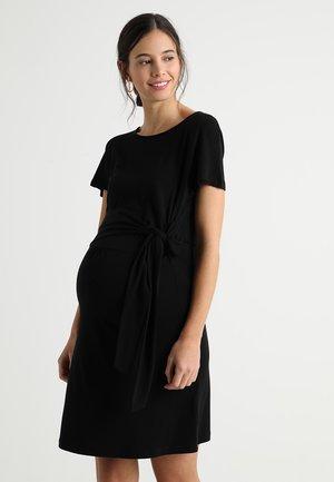 LISA DRESS - Jersey dress - black