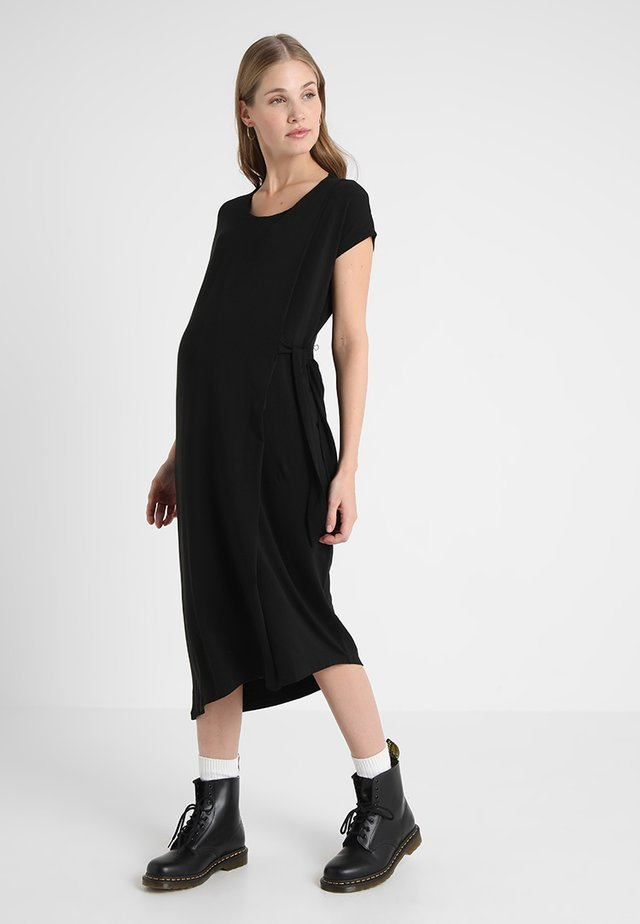 MAVERICK DRESS - Jerseyjurk - black