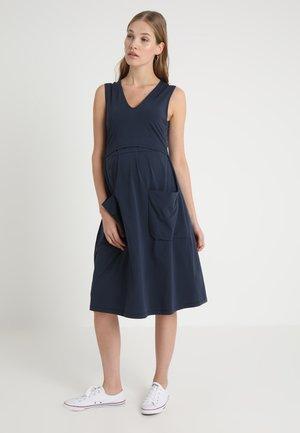 DEPOT DRESS - Jersey dress - midnight blue