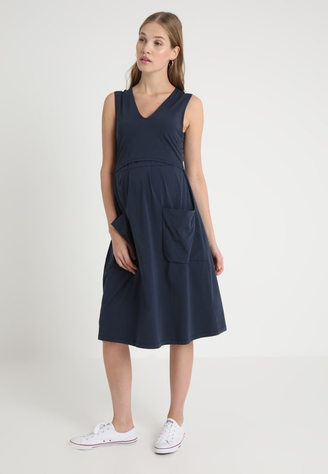 DEPOT DRESS - Jerseykleid - midnight blue