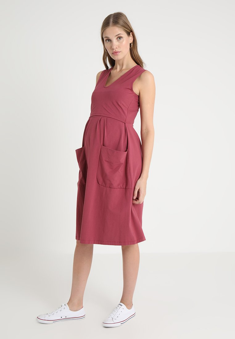 Boob - DEPOT DRESS - Vestito di maglina - soft cherry