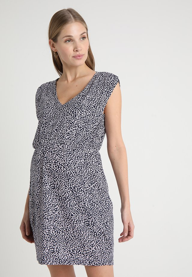MISTY DRESS - Jerseykleid - midnight blue