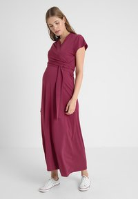 Boob - ALICIA DRESS - Maxi dress - soft cherry - 0