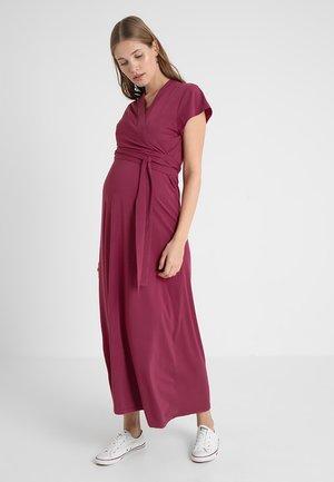 ALICIA DRESS - Długa sukienka - soft cherry
