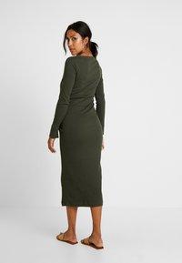 Boob - SIGNE DRESS - Długa sukienka - moss green - 2