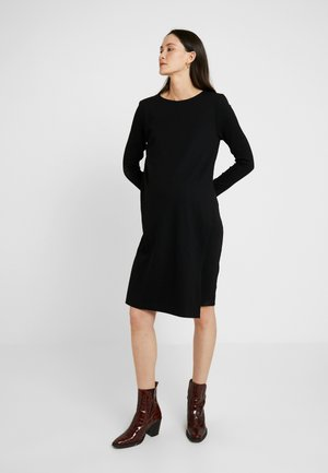 GRACE DRESS - Jerseyjurk - black