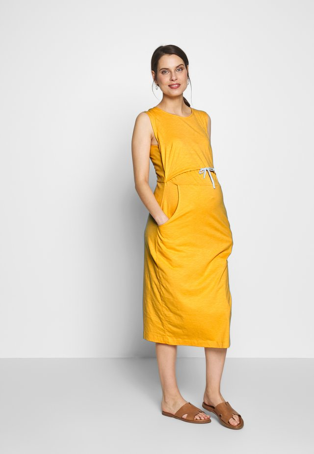 NAIMA DRESS - Jersey dress - yellow