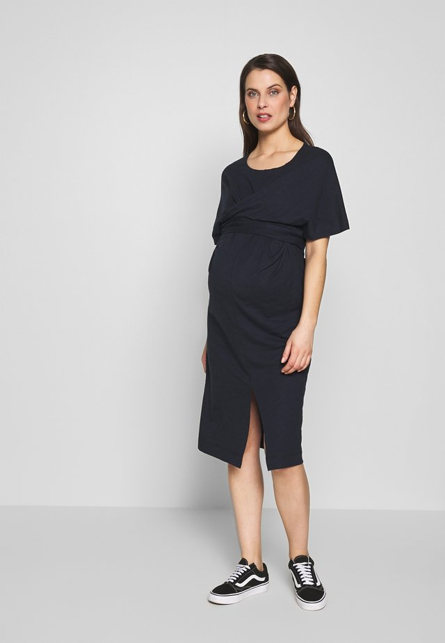ZADIE - Jersey dress - dark blue