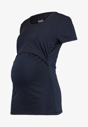 CLASSIC SHORT SLEEVED - Basic T-shirt - midnight blue