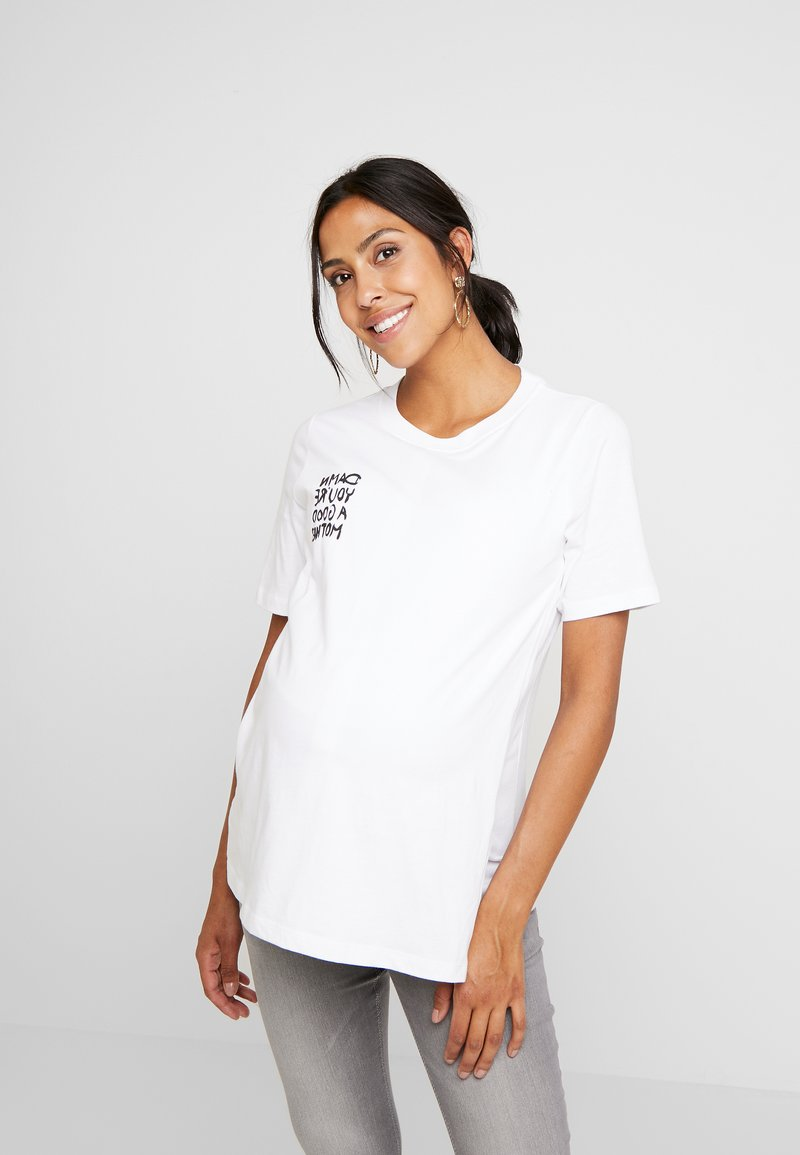 Boob - CHARI TEE - Print T-shirt - white