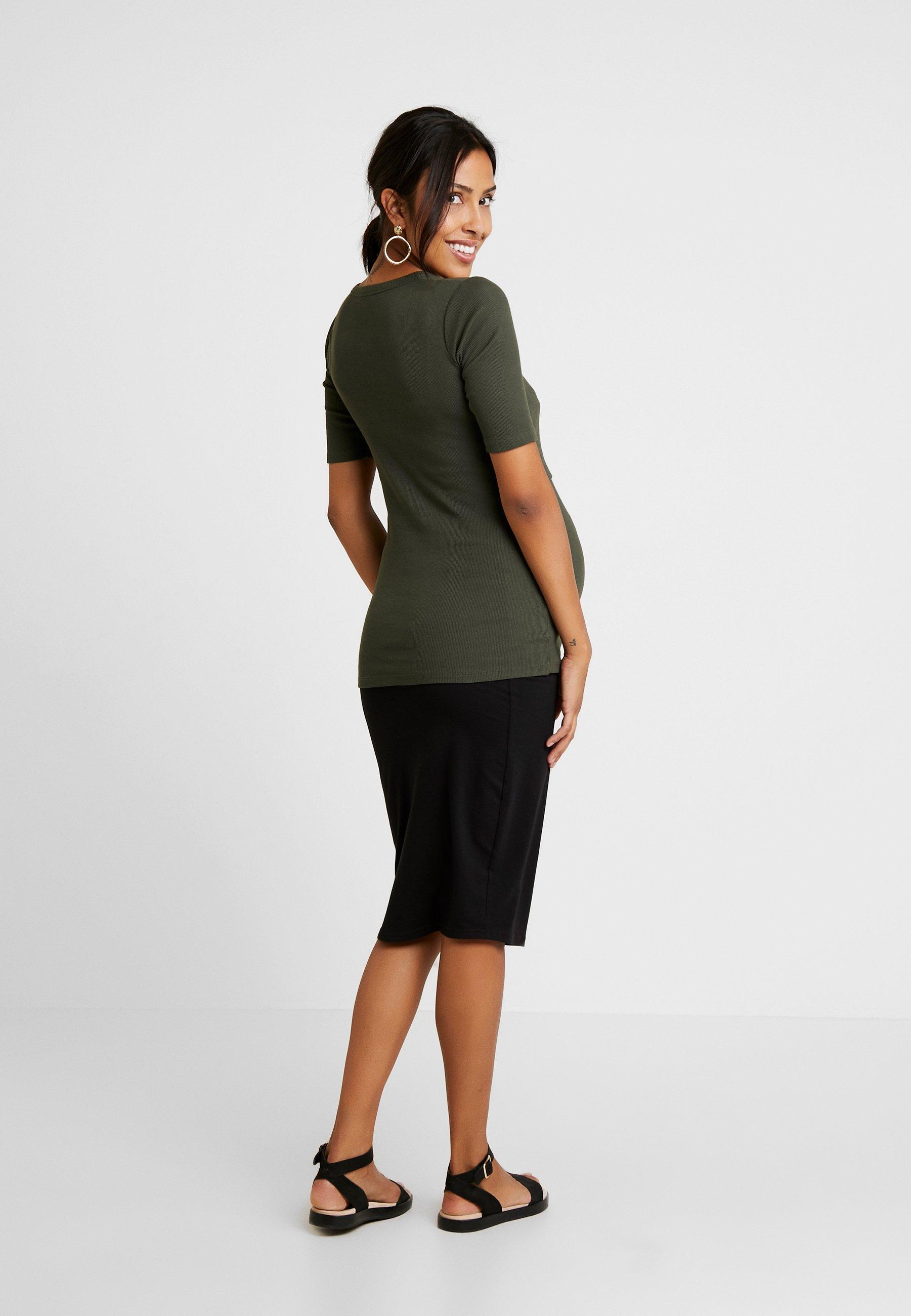 Boob SIGNE - T-shirt basique moss green