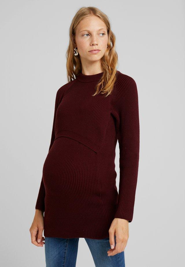 Sweter - plum