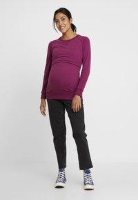 Boob - WARMER - Sweater - purple - 1