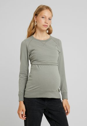 WARMER - Sweatshirt - sage