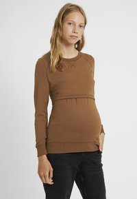 Boob - WARMER - Sweater - cinnamon - 0