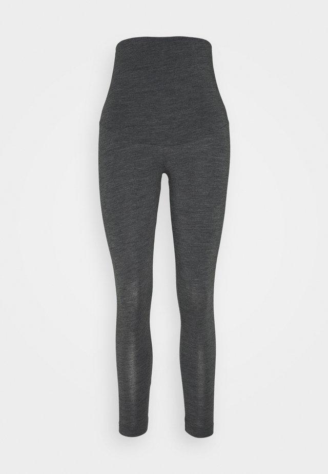 LEGGINGS - Pyjamabroek - dark grey melange