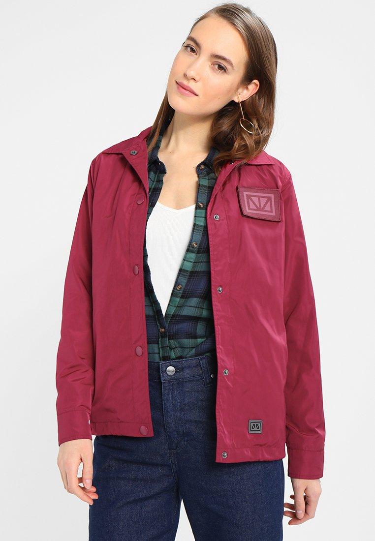 Brixtol Textiles - ELLIS - Summer jacket - cherry