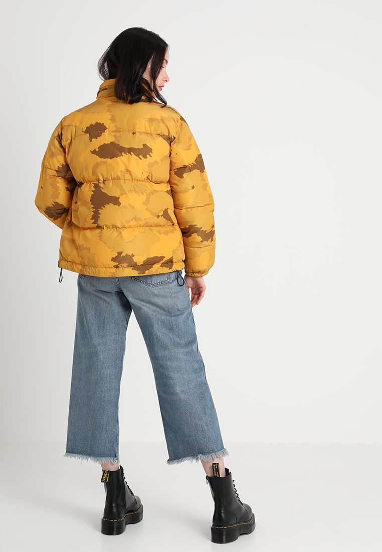 Brixtol Textiles CORA - Veste d'hiver cheetah yellow