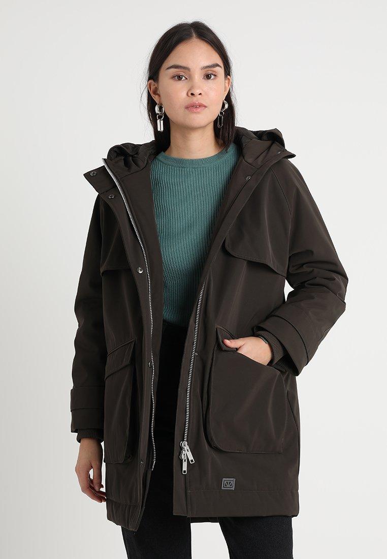 Brixtol Textiles - FREY - Manteau court - olive