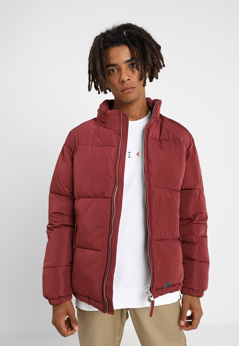 Brixtol Textiles - KEITH - Winter jacket - berry