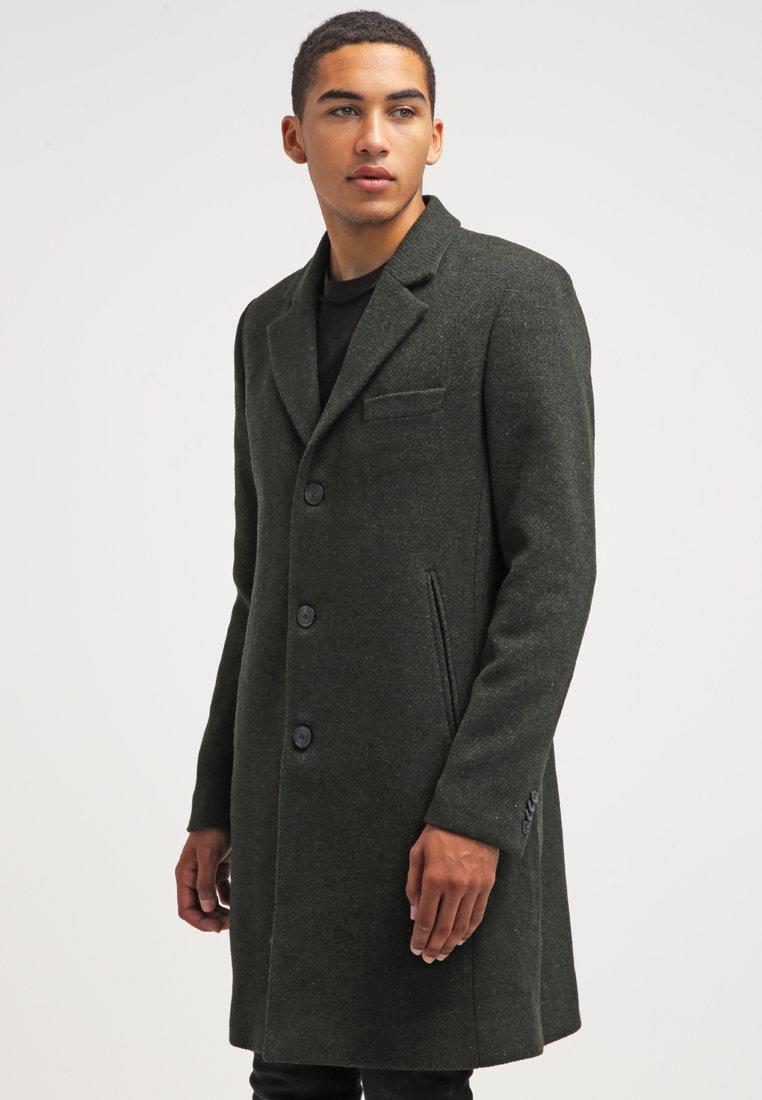Brixtol Textiles - IAN - Classic coat - olive