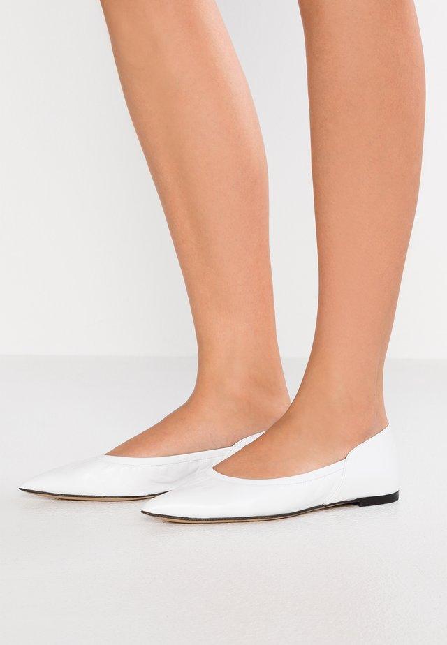 SIENA - Ballerinat - soft white