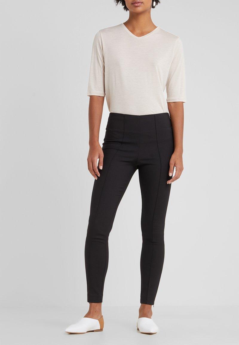 By Malene Birger - ADELIO - Spodnie materiałowe - black