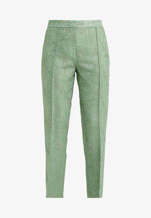 SANTSI - Pantalon classique - turf green