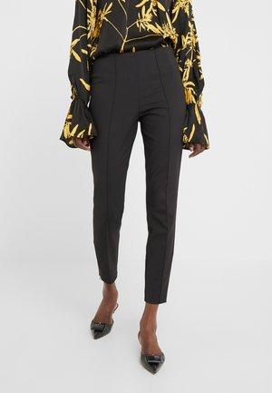 ADELIO - Spodnie materiałowe - black