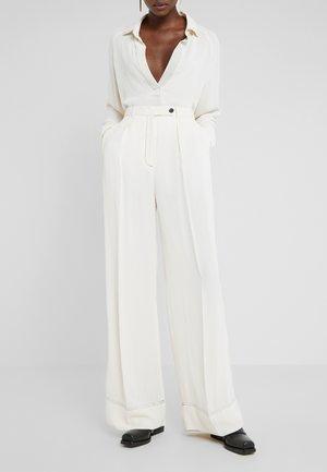 ENIL - Stoffhose - soft white