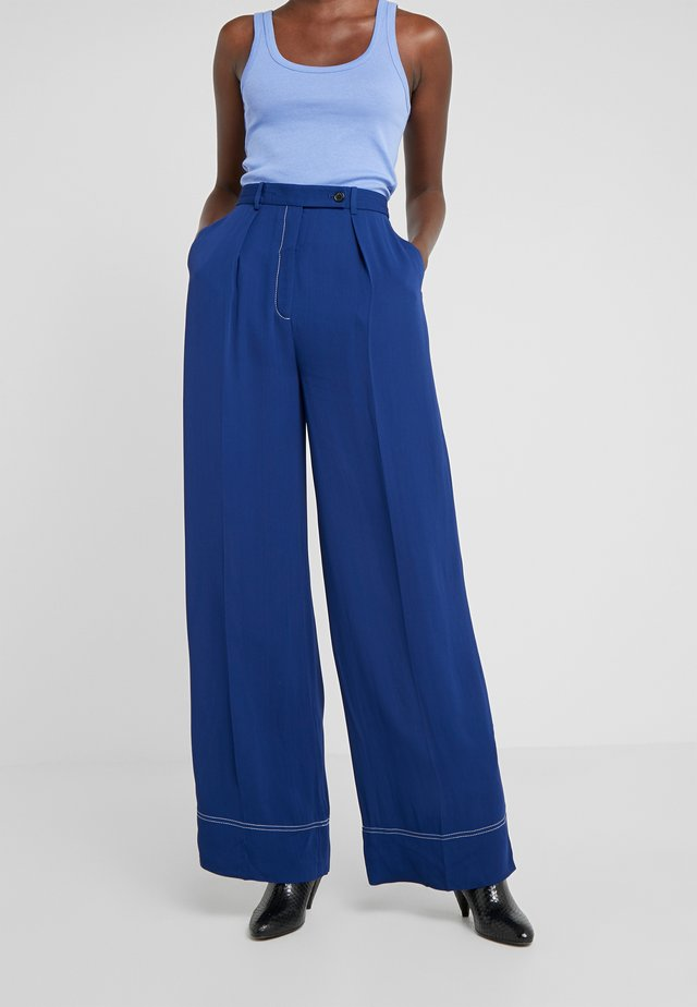 ENIL - Trousers - ultramarine