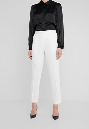 SANTSI - Trousers - soft white