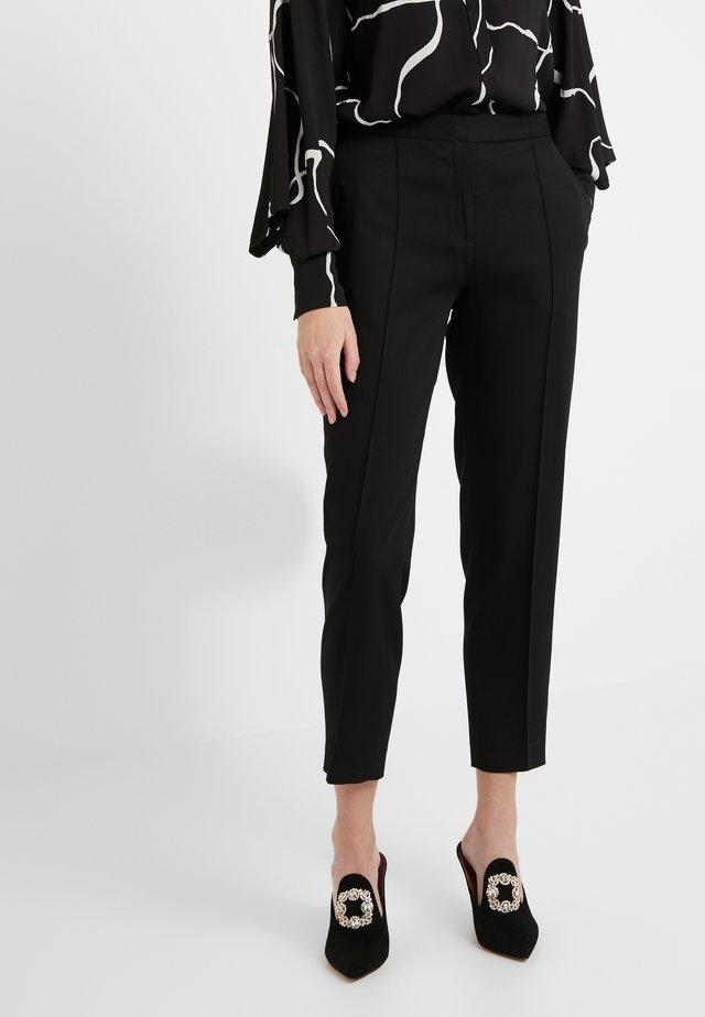 SANTSI - Pantalon classique - black