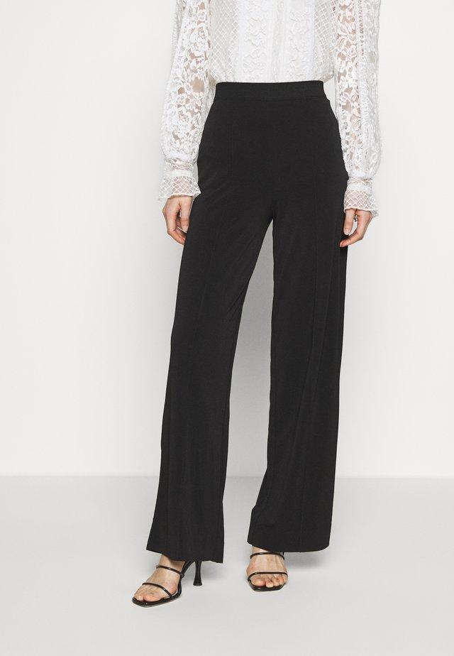 MIELA - Spodnie materiałowe - black