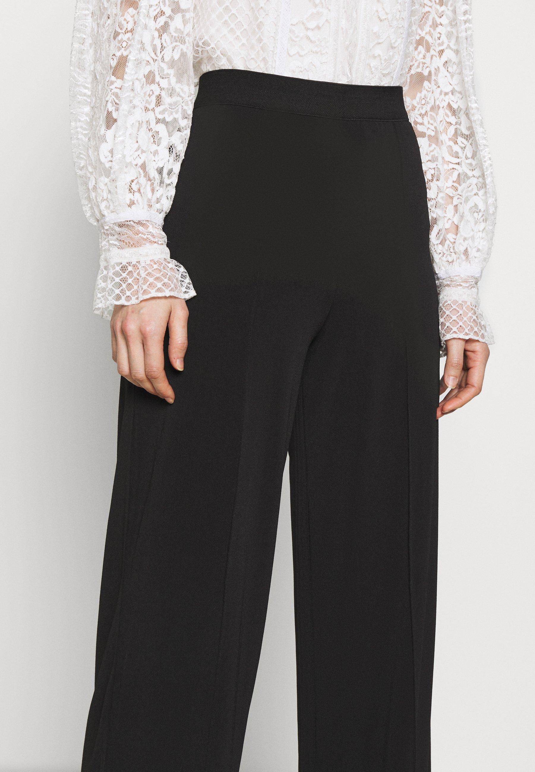 By Malene Birger MIELA - Spodnie materiałowe - black
