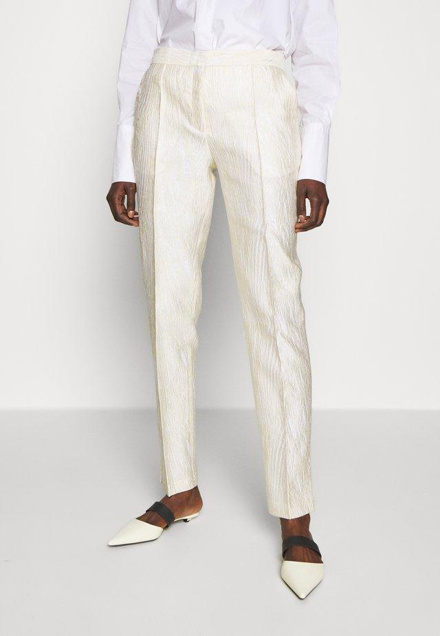 LINDGAARD - Trousers - egg white