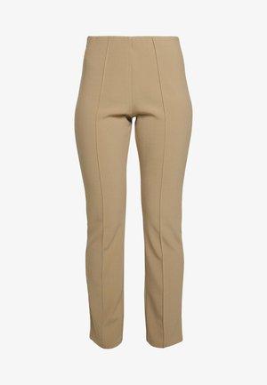 CHRISTAH - Pantalon classique - tannin
