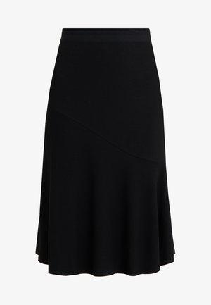 TASSIA - A-linjekjol - black