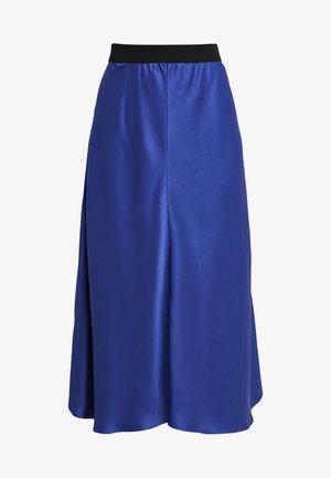 BIELLA - A-line skirt - naval blue