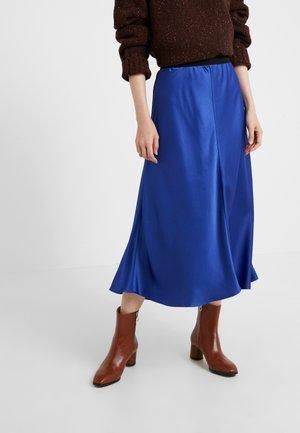 BIELLA - Áčková sukně - naval blue