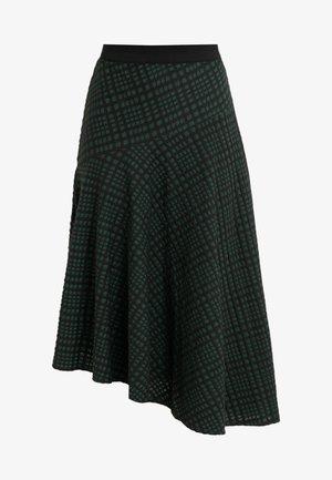 CAROX - A-line skirt - black